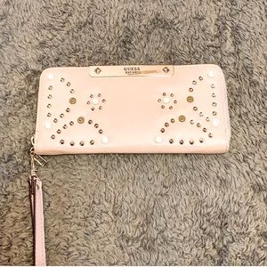 Guess - nude pink wallet/wristlet